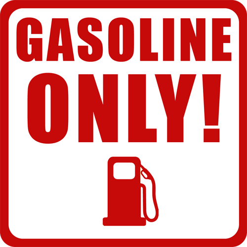 Gasoline Only